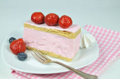 Strawberry Fancy Cake Royalty Free Stock Images