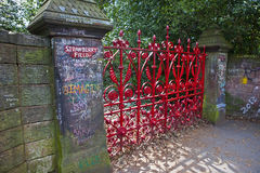 Strawberry Field in Liverpool Stock Photos