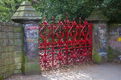 Strawberry Field in Liverpool Stock Image
