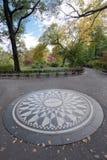 Strawberry Fields Central Park, New York City Stock Image