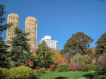 Strawberry Fields in Central Park in New York City. USA royalty free stock images