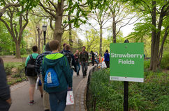 Free Strawberry Fields In Central Park Stock Photos - 83671043