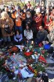 Strawberry Fields, John Lennon gedenkteken Royalty-vrije Stock Foto