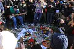 Strawberry Fields, memorial de John Lennon Foto de Stock