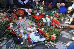Strawberry Fields, memorial de John Lennon Fotografia de Stock
