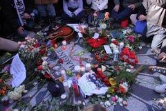 Strawberry Fields, memorial de John Lennon Imagens de Stock