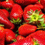 Strawberry Food Background. Fresh ripe sweet Royalty Free Stock Images
