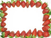 Strawberry Frame Royalty Free Stock Photos