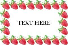 Strawberry Frame Stock Photo