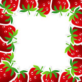 Strawberry Frame Royalty Free Stock Photo