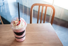 Strawberry frappe Royalty Free Stock Photo