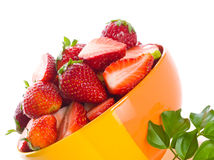 Strawberry. fresh berries Royalty Free Stock Images