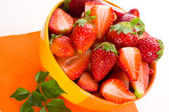 Strawberry. fresh berries Royalty Free Stock Photos