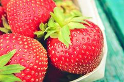 Strawberry. fresh berries of strawberry closeup/ Top view. Red strawberry in wooden basket. Strawberry. fresh berries of strawberry closeup/Top view. Red royalty free stock images