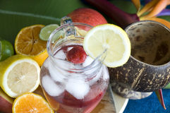 Strawberry fresh drink for summer Royalty Free Stock Photography