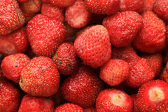 Strawberry. Fresh harvested strawberry without green leaves Royalty Free Stock Photos