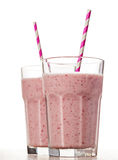 Strawberry fresh milkshake summer drink Stock Photography