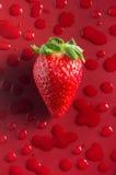Strawberry Fresh One Stock Photo