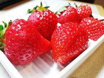 Strawberry. Fresh strawberry time Stock Images