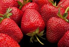 Strawberry fruit  background Royalty Free Stock Photo