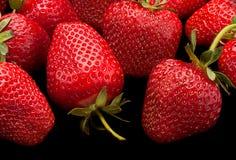 Strawberry fruit  background Royalty Free Stock Images