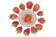 Strawberry fruit berries Royalty Free Stock Photos