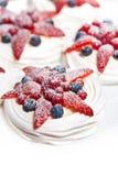Strawberry Fruit Cake Dessert Stock Photography