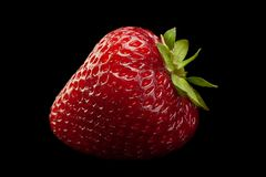 Strawberry fruit closeup royalty free stock images