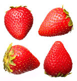 Strawberry  Fruit Collections, isolated Royalty Free Stock Photography