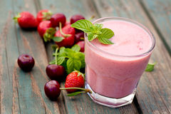 Strawberry Fruit Drink Royalty Free Stock Image