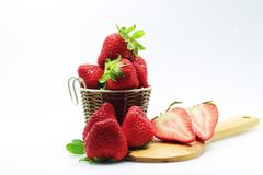 Strawberry fruit of life. Health food clean food fruit of life Royalty Free Stock Photo