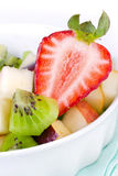 Strawberry and fruit salad Stock Photos