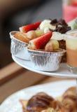 Strawberry fruit tart. Stock Photos