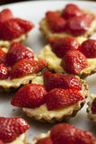 Strawberry Fruit Tarts Royalty Free Stock Photo