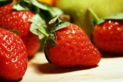 Strawberry fruits royalty free stock photos