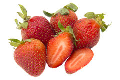 Strawberry. Fruits suitable for planting in the highlands and cold air stock photos