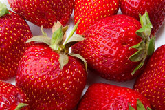 Strawberry - full frame Royalty Free Stock Photography