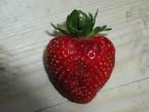 Strawberry Glass 4 Stock Image