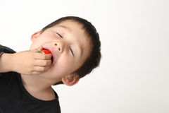 Strawberry is good to health Stock Images