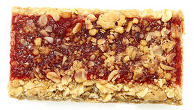 Strawberry Granola Bar Royalty Free Stock Images