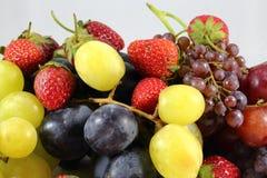 Strawberry grape mix Stock Photography