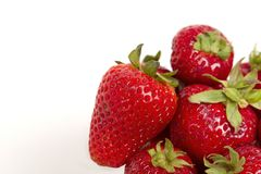 Strawberry group 1 Stock Image