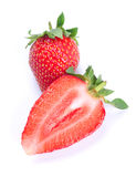 Strawberry and a half Royalty Free Stock Photography