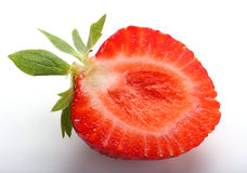 Strawberry halves Stock Image
