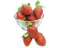 Strawberry heap Royalty Free Stock Images