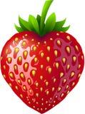 Strawberry heart. Stock Photo