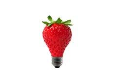 Strawberry  heart Royalty Free Stock Image