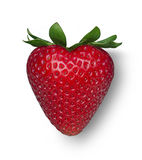 Strawberry Heart Royalty Free Stock Photography