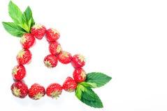 Strawberry Heart V2 Stock Photo