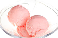 Strawberry icecream Stock Photography